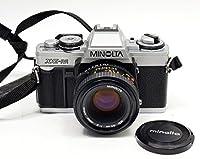 Minolta XG-M SLR Manual Focus Camera Kit With a 50mm f/2.0 Lens