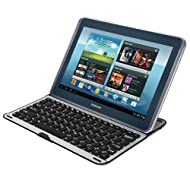 MiniSuit Samsung Galaxy Note 10.1 Aluminum Keyboard Case Cover (N8000 N8010 N8013)
