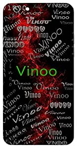 Vinoo (To Spread In Different Directions) Name & Sign Printed All over customize & Personalized!! Protective back cover for your Smart Phone : Samsung Galaxy E5