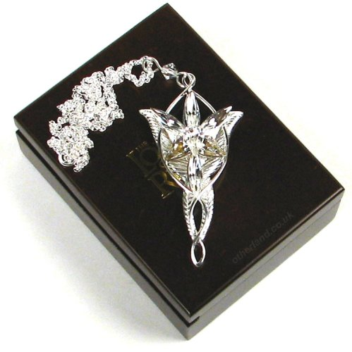 Arwen Evenstar Pendant Silver (Lord of the Rings)
