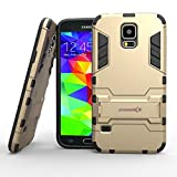 img - for Emoxz Galaxy S5 case,[ultra Slim Stand] TPU Case Cover for Samsung Galaxy S5 (Gold) book / textbook / text book