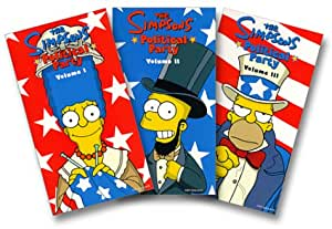 The Simpsons Political Party, Boxed Set [VHS]