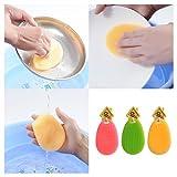 Kemuse Multipurpose Silicone Washing Brush / Fruit Washer / Vegetable Cleaner / Heat-resistant Mat / Gloves - Kitchen Wash Tool Pot / Pan Dish 3 pcs