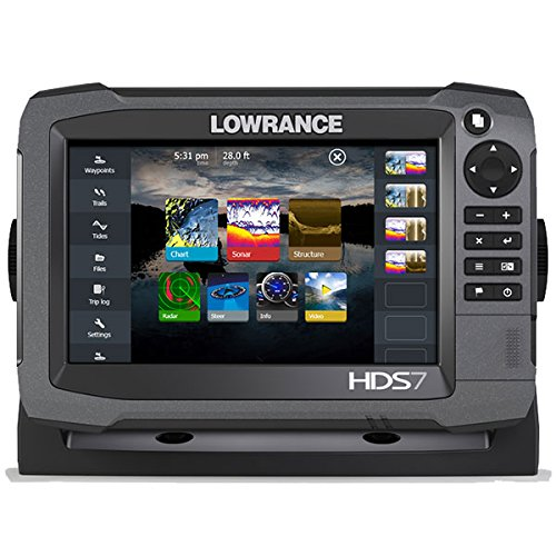 Lowrance 000-11784-001 HDS-7 GEN3 Insight Fishfinder/Chartplotter with CHIRP/StructureScan Sonar