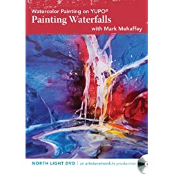 Watercolor Painting on YUPO - Painting Waterfalls