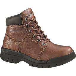 Women's Wolverine Marquette Steel Toe SR Boots Walnut, WALNUT, 9.5W