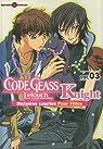 Code Geass Knight, Tome 3 : Histoires courtes pour filles par Sakondo
