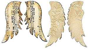 Sizzix Bigz Die - Wings, Angel by Rachael Bright