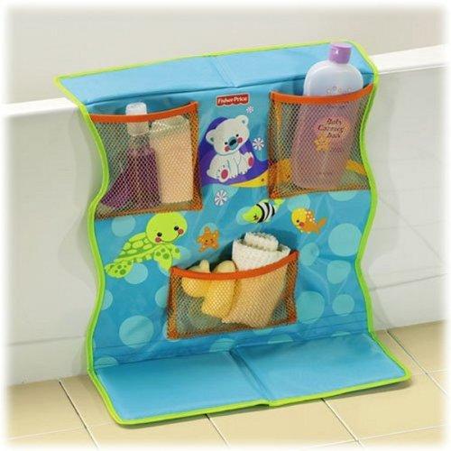 Fisher-Price® Precious Planet Bath Kneeling Pad with Organizer - 1