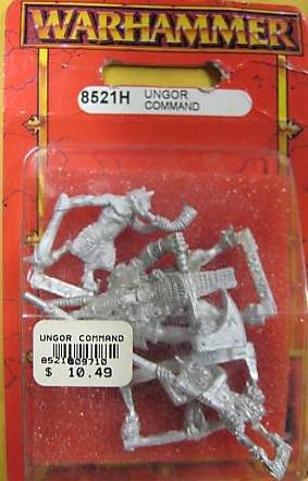 Warhammer Ungor Command 8521H Blister Pack