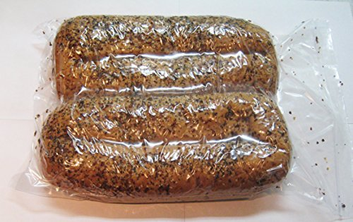 Bread Loaf Bags Reclosable 2 Mil Zip Top Heavy Plastic Reusable (Thick Bread Bags compare prices)