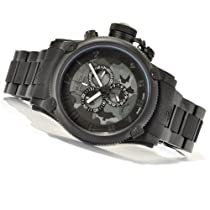 Invicta Mens Russian Diver Swiss Made Chronograph Camouflage Black IP Bracelet Watch 11606
