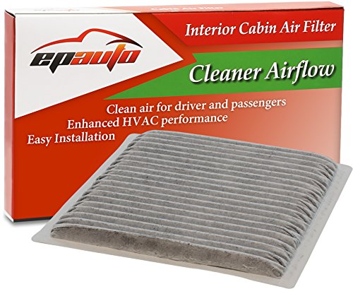 EPAuto CP846 (CF9846A) Subaru / Toyota Replacement Premium Cabin Air Filter includes Activated Carbon (Toyota Sienna Air Filter 2004 compare prices)