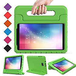 BMOUO Samsung Galaxy Tab A 10.1 Case - EVA Kids Case ShockProof Case Light Weight Super Protection Cover Handle Stand Case for Kids Children for Samsung Galaxy TabA 10.1-inch Tablet - Green