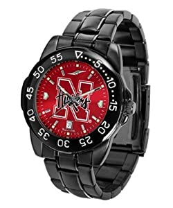Nebraska Cornhuskers Mens Logo Watch by SunTime