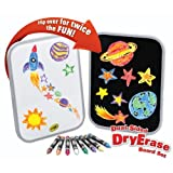 Dual-Sided Dry Erase Board Set