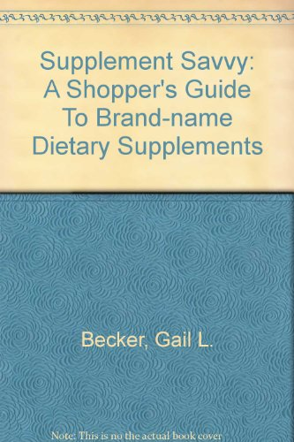 Names Of Dietary Supplements
