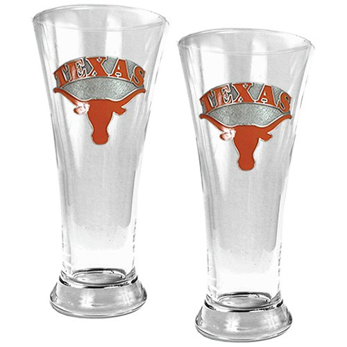 Texas Longhorns Pilsner Set