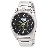 [オニツカ タイガー]Onitsuka Tiger 腕時計 ツノクロノグラフモデル OTTC03.02SB メンズ