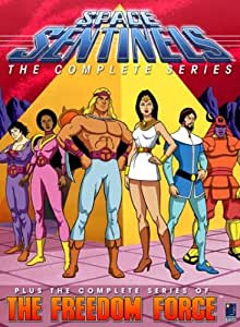 Space Sentinels: The Complete Series & The Freedom Force: The Complete Series