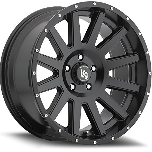 LRG Rims LRG107 Gamer Wheel with Satin Black Finish (20x9