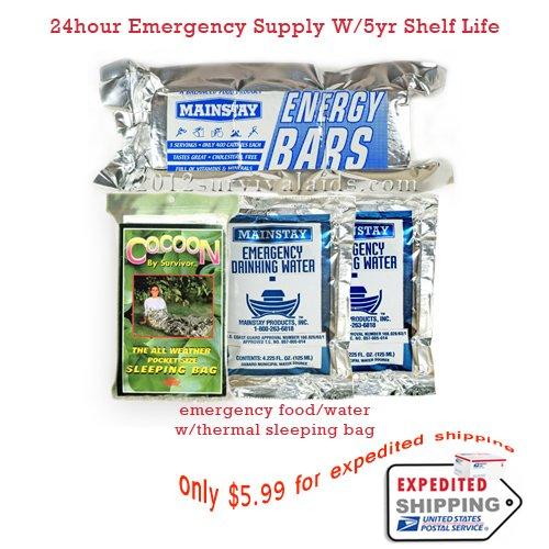 Emergency Survival Gear (Food/water Rations)