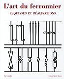 echange, troc Otto Schmirler - L'art du ferronnier : Esquisses et réalisations; Edition trilingue français-allemand-anglais