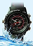 51EMN7d3jwL. SL160  GSI Handsome Waterproof Watch, Hidden Pinhole Camera/Camcorder, High Resolution Audio, Video and DVR Recording, USB Interface, 4gb Built In Memory   Great Surveillance Tool