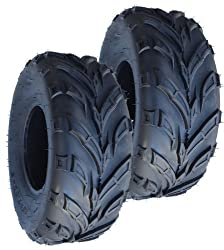 20×7-8 V Tread Go-kart Front Tires (2)