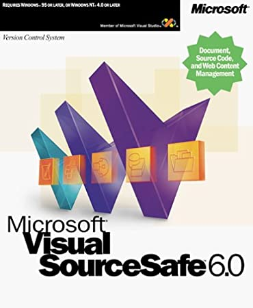 Microsoft Visual Sourcesafe 6.0 CD [OLD VERSION]