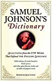Samuel Johnson's Dictionary (0802714218) by Lynch, Jack