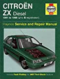 Mark Coombs Citroen ZX Diesel (1991-1998) Service and Repair Manual (Haynes Service and Repair Manuals)