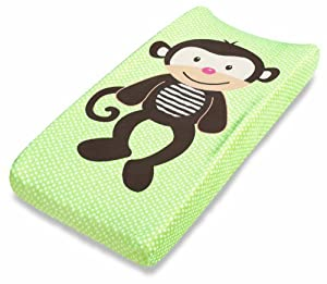 Summer Infant Changing Pad Cover, Monkey