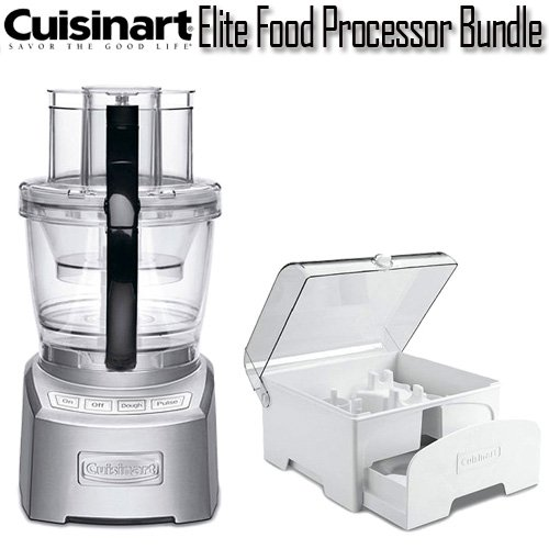 Cuisinart Elite Collection  Cup Die Cast Food Processor Review