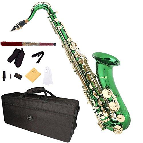 mendini-mts-gl-tenor-saxophone-green