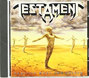 Practice What You Preach by Testament (1989) Audio CD