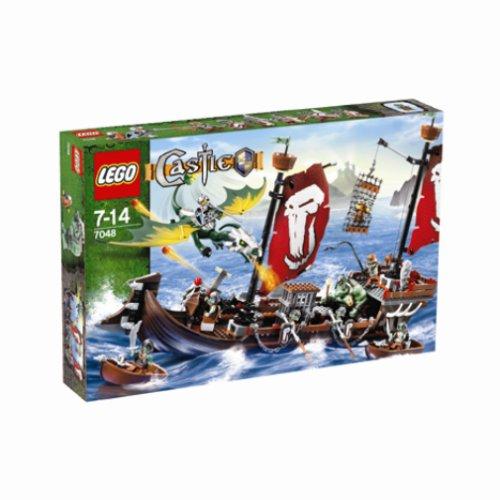 LEGO Castle 7048: Troll Warship