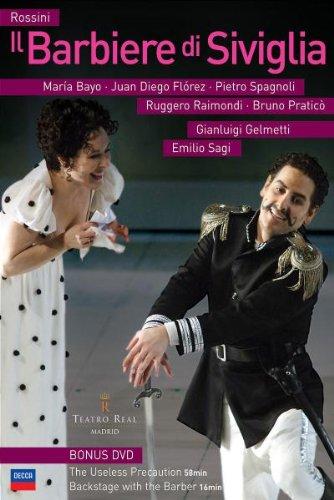 El Barbero De Sevilla (Florez -Sagi) -  Rossini - DVD