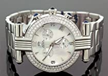 Unisex Aqua Master Diamond Watch 3.25 ct w-93