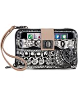Sakroots Artist Circle Smartphone Cross Body Bag