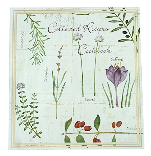 Meadowsweet Kitchens Recipe Card Cookbook Organizer - Botanical Treasures (Recipe Cards 100 compare prices)