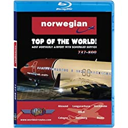 Norwegian Boeing 737-800 to the Top of the World [Blu-ray]