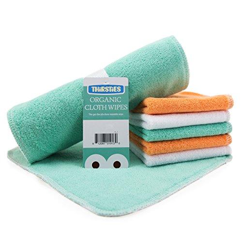 Thirsties Organic Cloth Wipes