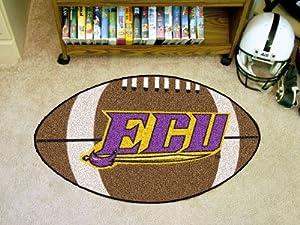 "Fan Mats 1305 ECU - East Carolina University Pirates 22"" x 35"" Football Shaped Area Rug"
