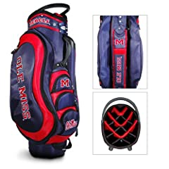 Brand New Mississippi Rebels NCAA Cart Bag - 14 way Medalist by Things for You