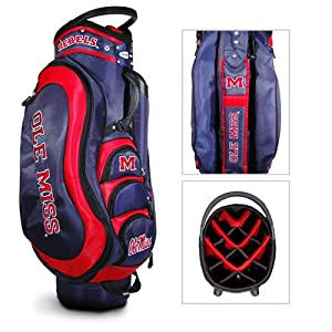 Mississippi Rebels NCAA Cart Bag - 14 way Medalist - TGO-24735 by Team Golf