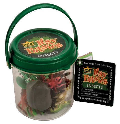 Wild Republic Itsy Bitsy Bucket Insects - 1