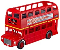Hot Sale Disney / Pixar CARS 2 Movie Exclusive Vehicle Playset Double Decker Bus