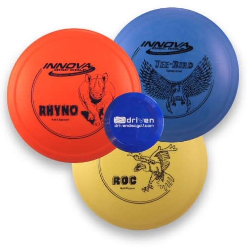 innova-disc-golf-starter-set-with-driven-mini-marker-disc-3-disc-set-colors-vary