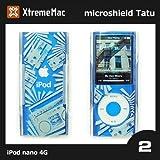 XtremeMac 第4世代iPod nano ケース micro shield TATU ipod nano 第4世代 ケース ipod nano ケース ipod nano ケース クリア グラフィック デザイン ケース (No.2)